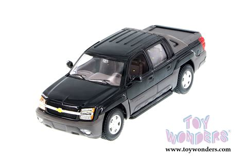 Diecast Welly Chevrolet Avalanche 2002 chevy avalanche up by welly 1 24 scale diecast