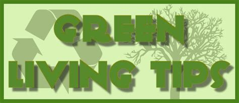 Apartment Tips Green Living Tips