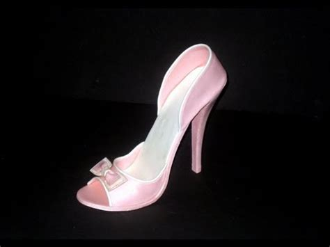 fondant high heel shoe tutorial yourepeat