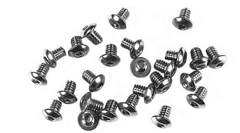 Pch Type 2 - pch button head screws for falcon type motor 2 56 x 1 8 quot package of 25 pch 2 56