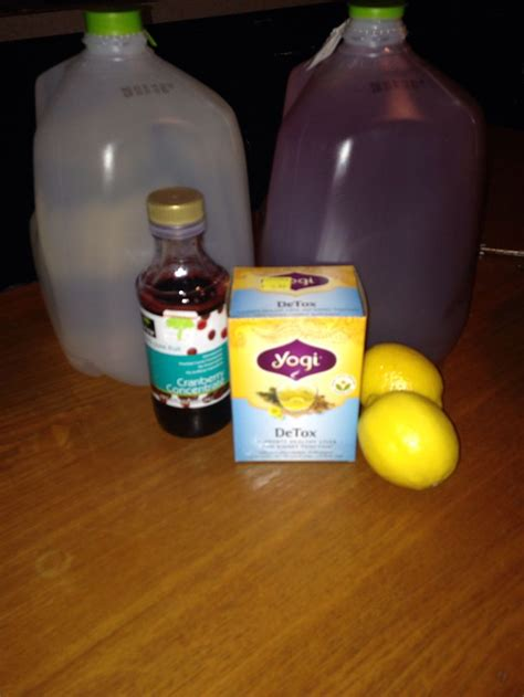 Detox Water 1 Gallon by 7day Detox By Julian Per Day 60oz Half