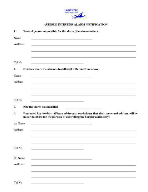Employee Key Holder Agreement Key Agreement Template