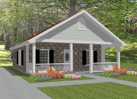 complete house plans 836 s f 2 bed 1 bath