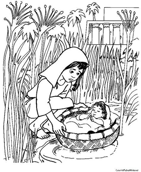 preschool bible coloring pages moses moses theme coloring pages coloring pages for kids