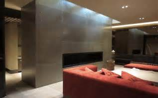 24 ideas of concrete wall with fireplace as a part of your