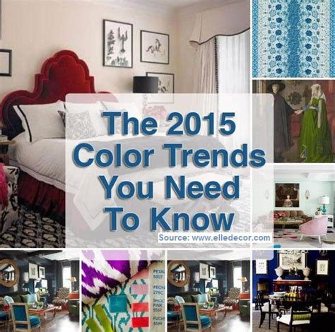 home decor pattern trends 2015 the 2015 color trends you need to know home and life tips