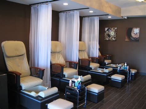 small nail salon interior designs google search misc
