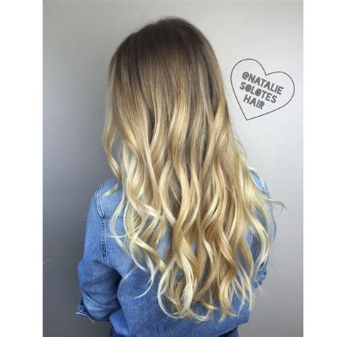 subtle ombre hair with soft waves medium ash brown hair blonde rooted shadow root balayage subtle ombre sombre