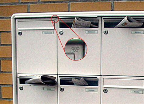 Aufkleber Am Briefkasten Einbrecher by Gaunerzinken Und Deren Bedeutung Nachr 252 Stbeschl 228 Ge F 252 R