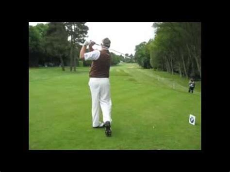 darren clarke golf swing darren clarke golf swing slow motion youtube