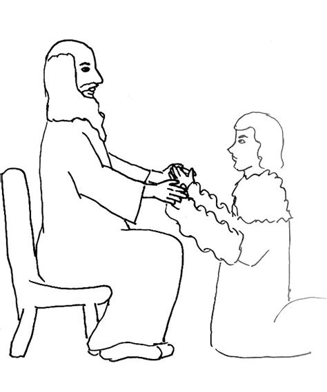coloring page jacob and esau free esau bible story coloring pages