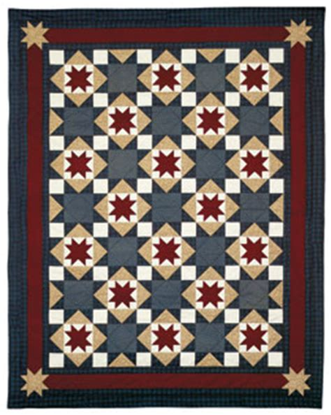 Quilt Pattern Northern Star | northern star 735272010562 quilt in a day books