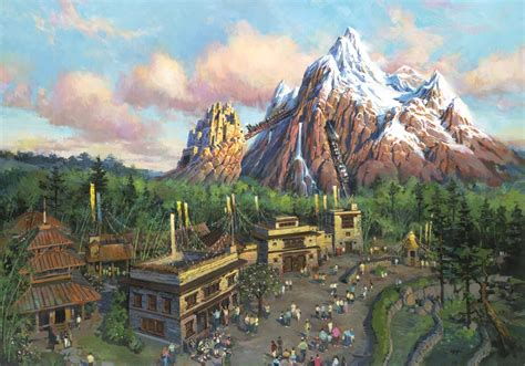 wdwthemeparkscom expedition everest  concept art