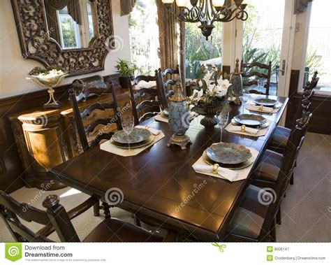 luxury furniture home decor store royalty free stock photo dining room with festive decor royalty free stock