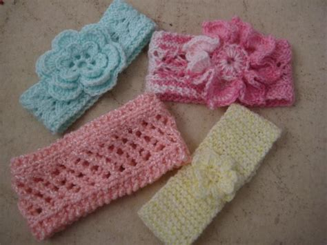 how to knit baby headbands patterns four new knit baby headbands by myrtie craftsy