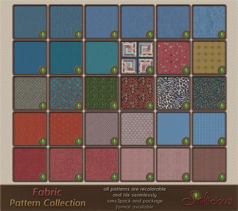 pattern collection download fabric pattern collection custom content for the sims 3