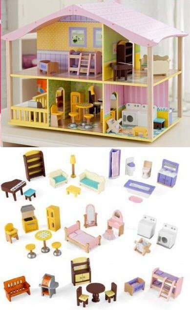 Dollhouse Plan Traditional wooden dolls houses traditional lavender and baytree