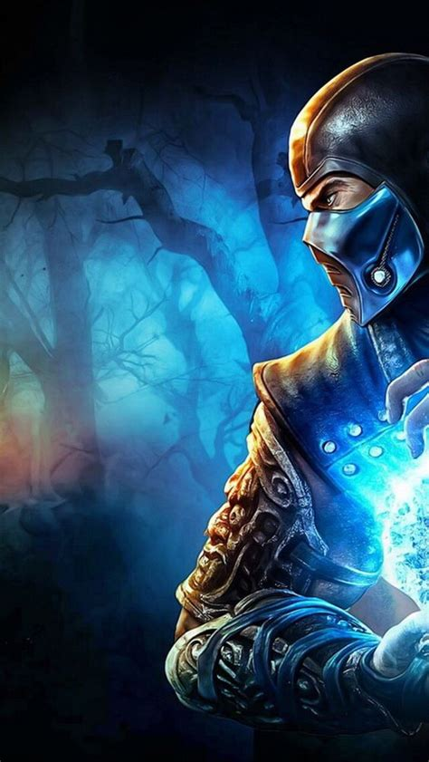 Wallpaper Iphone 5 Mortal Kombat | mortal kombat sub zero iphone 5s wallpaper mortal kombat