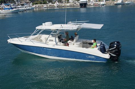 rear cabin boats boston whaler outrage sureshade