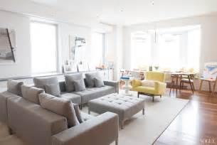 Sectional Sofa Apartment Size Gray Leather Sofa Interior Design Modern Sofa Design