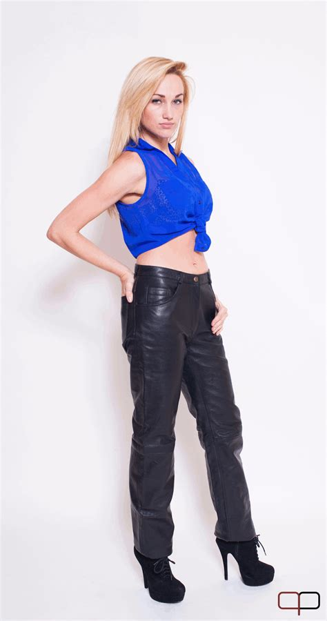 custom clothes leather womens