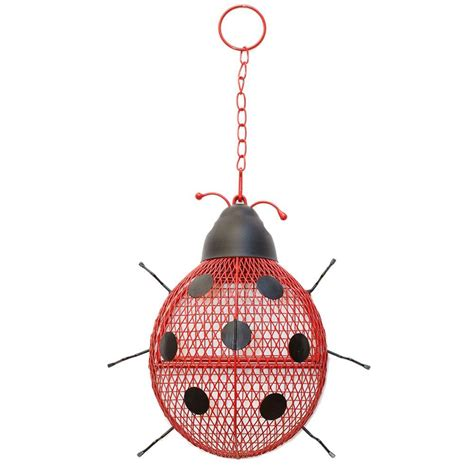 no no lady bug mesh bird feeder rsb00344 the home depot