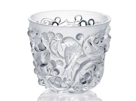 lalique vasi vaso avvalon in cristallo lalique serra roma