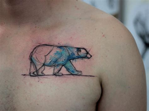 polar bear tattoo designs waiter best design ideas