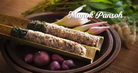 makanan tradisional  malaysia iban