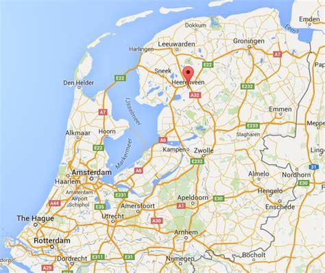 heerenveen netherlands map where is heerenveen on map netherlands world easy guides