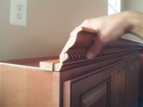 diy cabinet crown molding crown molding carpentry
