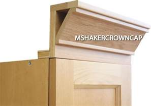 Unfinished Kitchen Cabinets For Sale 3 Piece Shaker Crown Molding With Backer And Cap