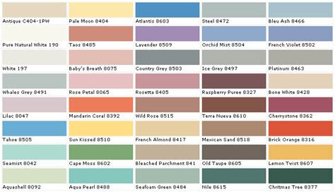 marvelous behr exterior paint color chart 4 behr paint color chart newsonair org