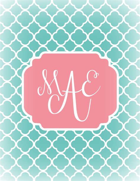 monogram background diy monogram iphone background diy