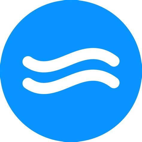 clipart simple water icon 2