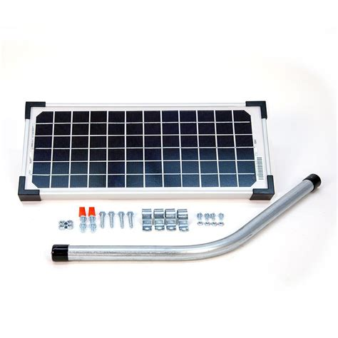 mighty mule gate opener mighty mule 10 watt solar panel kit for electric gate opener fm123 the home depot
