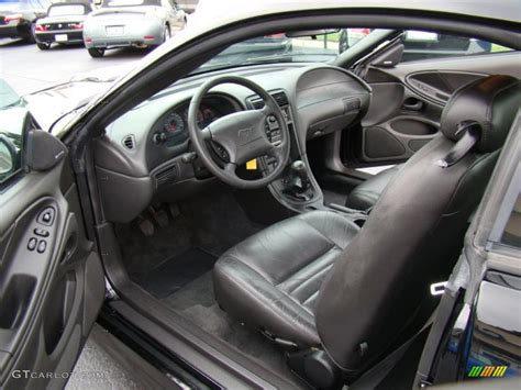 2004 mustang interior charcoal interior 2004 ford mustang roush stage 1