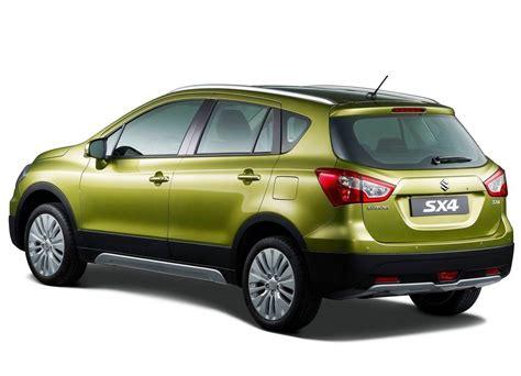 All New Suzuki Sx4 Maruti Sx4 Crossover Rear 3 Quarter