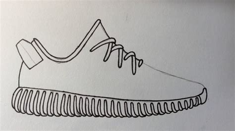 How To Draw Yeezy Boost 350