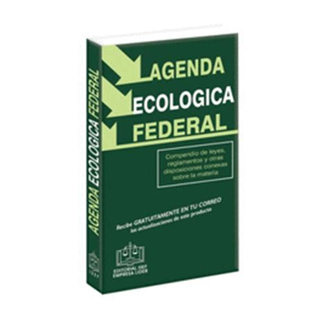 libreria isef isef agenda ecologica federal librer 237 a loscrito