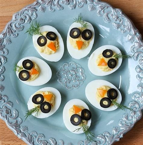 Decorated Deviled Eggs For Easter by Chirp Chirp Deviled Eggs 4 Surprising Nutrition Facts
