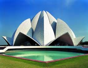 Bahai Lotus Temple Phoebettmh Travel India Golden Triangle Tour Delhi