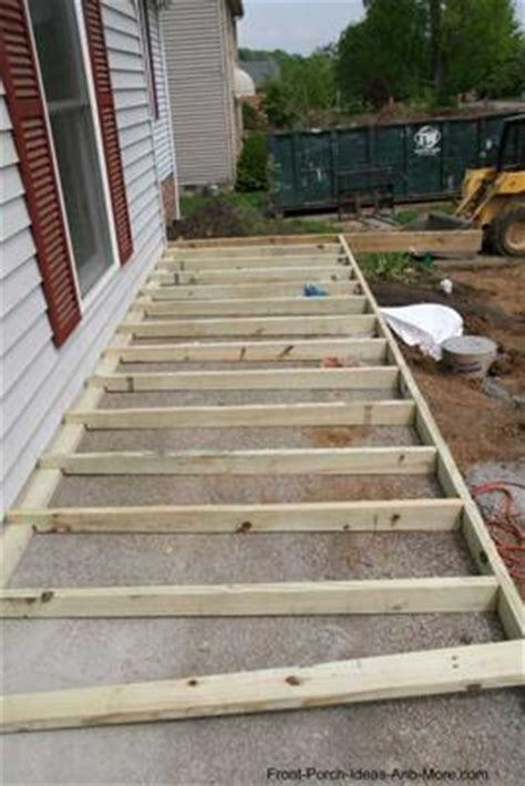 build  porch  concrete