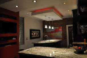 Drop Lights For Kitchen Island by 12 Kitchens With Neon Lighting