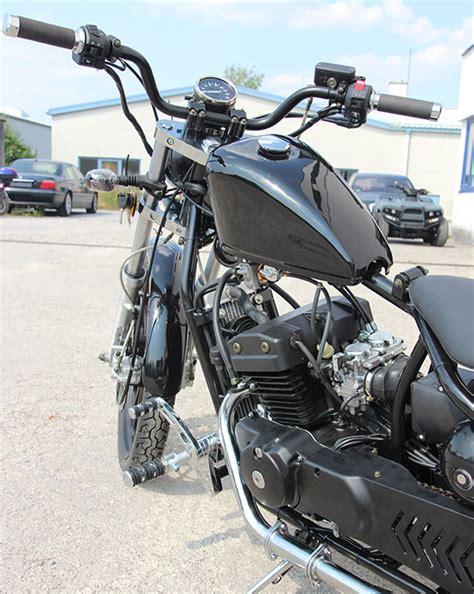 Chopper Motorräder Mit 48 Ps by Regal Raptor Bobber 125ccm Chopper Schwarz Motorrad 8kw 2
