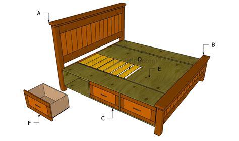 Plans For Wood Bed Frame
