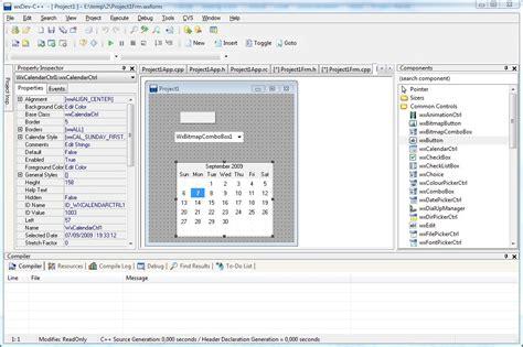 design form program wxdev c