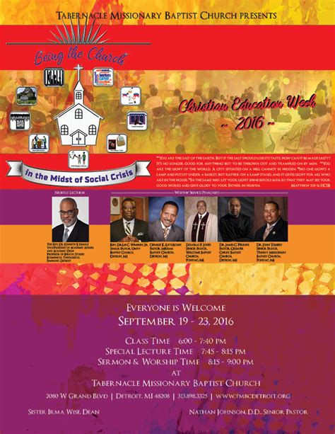 Amazing New Jerusalem Missionary Baptist Church #8: Being-the-Church-in-the-Midst-of-Social-Crisis-Flyer-4.jpg