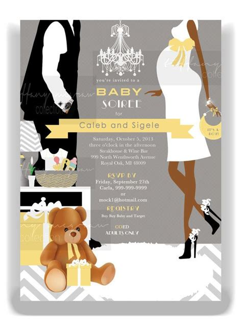 for coed baby shower coed modern baby shower
