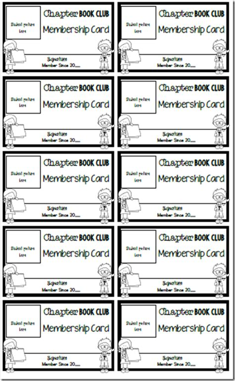 The Chapter Book Club Easy Chapter Books For Early And Transitional Readers And Tons Of Book Club Survey Template